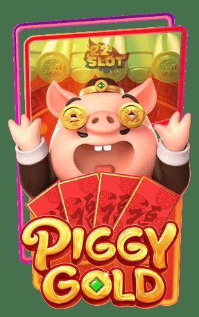 Icon Piggy Gold