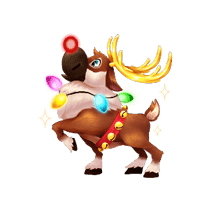 Reindeer Santa's Gift Rush
