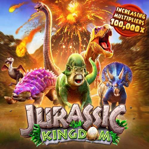 Banner Jurassic Kingdom รวมเกมสล็อตทุกค่าย ทดลองเล่นสล็อต PG SLOT ฟรี
