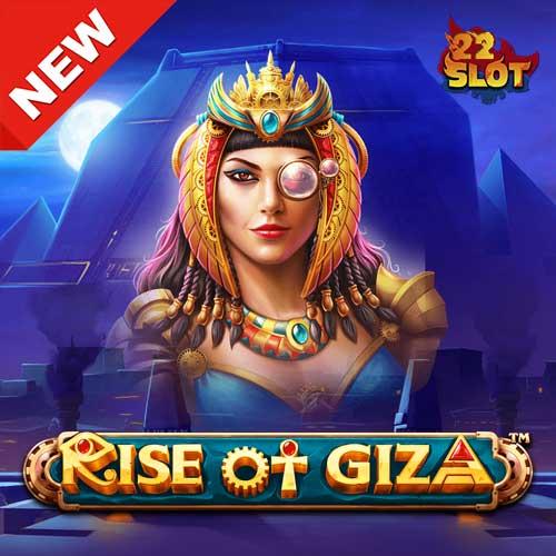Banner Rise of Giza Power Nudge ค่าย Pragmatic ทดลองเล่นสล็อต