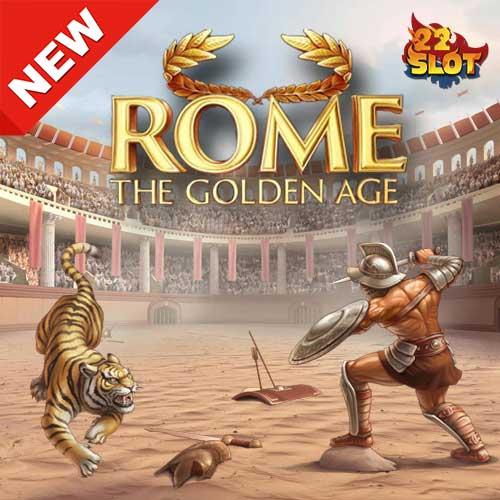 Banner Rome The Golden Age เกมสล็อตค่าย NetEnt ทดลองเล่นฟรี