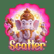 Scatter Ganesha Gold
