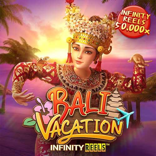 Banner Spins Bali Vacation เกมสล็อตทุกค่าย ทดลองเล่นสล็อต PG SLOT
