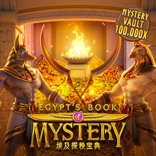 Banner Egypt's Book of Mystery เกมสล็อตทุกค่าย ทดลองเล่นสล็อตฟรี