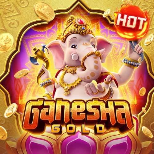 Banner Ganesha Gold