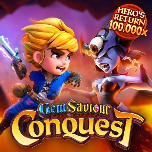 Banner Gem Saviour Conquest เกมสล็อตทุกค่าย ทดลองเล่นสล็อตฟรี