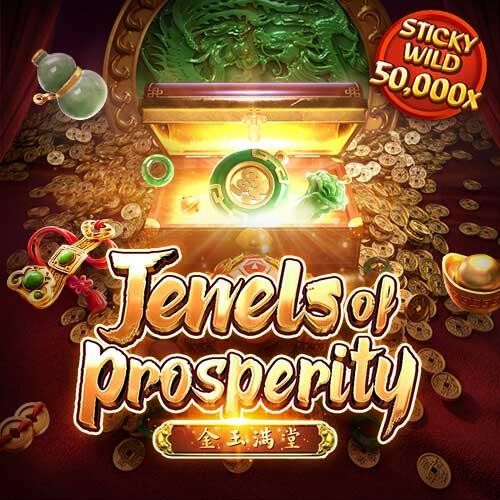 Banner Jewels of Prosperity เกมสล็อตทุกค่าย ทดลองเล่นสล็อต PG SLOT