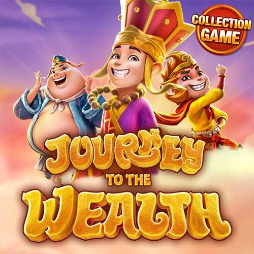 Banner Journey To The Wealth เกมสล็อตทุกค่าย ทดลองเล่นสล็อตฟรี