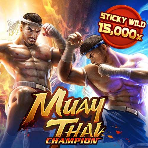 Banner Muay Thai Champion