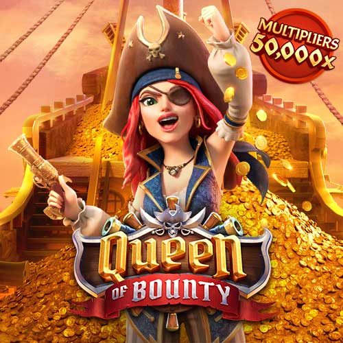 Banner Queen of Bounty เกมสล็อตทุกค่าย ทดลองเล่นสล็อต PG SLOT