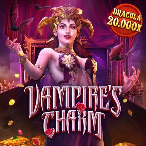 Banner Vampire's Charm เกมสล็อตทุกค่าย ทดลองเล่นสล็อต PG SLOT