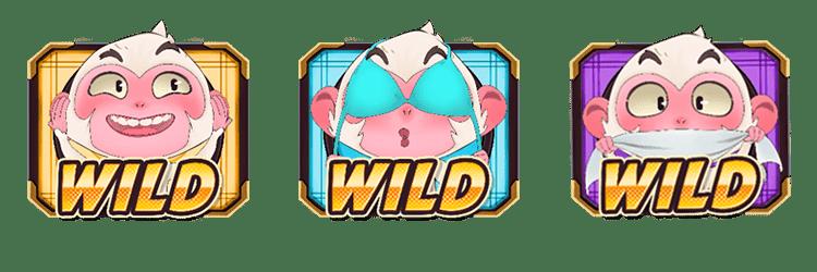 Wild Three Monkeys