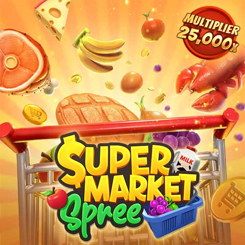 Banner Supermarket Spree เกมสล็อตค่าย PG Slot ทดลองเล่นสล็อต